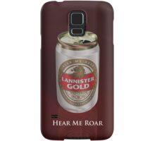Lannister Gold Samsung Galaxy Case/Skin