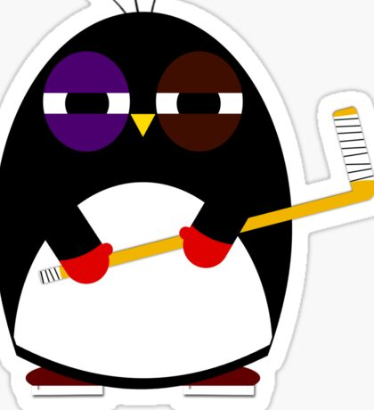 Hockey penguin Sticker