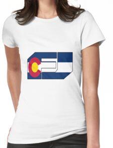 fj colorado  Womens Fitted T-Shirt