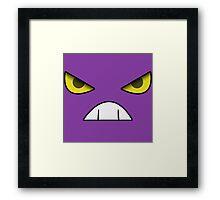 Pokemon - Crobat Crobat Face Framed Print