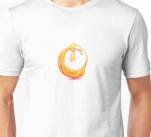 Doga, the Dognut asana. Unisex T-Shirt