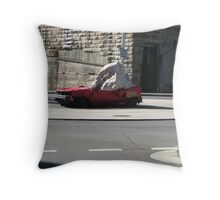 Squashed car , seen better days,Sydney Throw Pillow