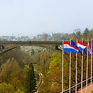 Adolphe Bridge at Luxembourg City by Vac1