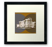 constructivism architecture Framed Print