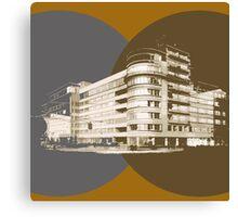 constructivism architecture Canvas Print