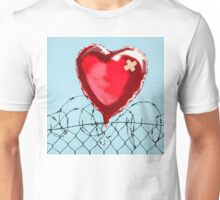 banksy - love hurt Unisex T-Shirt