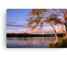 tweed river... Canvas Print