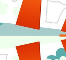 Splatfest Team Planes v.1 Sticker