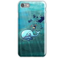 Whales are Furious! iPhone Case/Skin