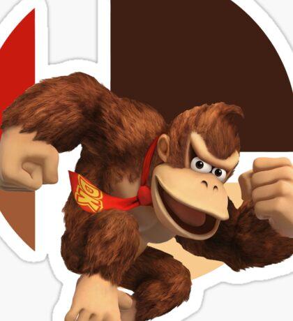 I Main Donkey Kong Sticker