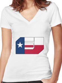 Fj Texas Women's Fitted V-Neck T-Shirt