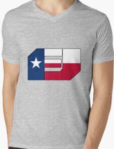 Fj Texas Mens V-Neck T-Shirt