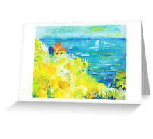 Dream Cottage Greeting Card