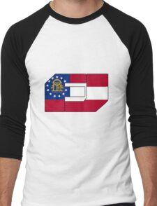 Fj Georgia Men's Baseball ¾ T-Shirt