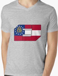 Fj Georgia Mens V-Neck T-Shirt