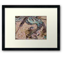 BUTTERFLY ~ 66 DELICATE YET BOLD Framed Print