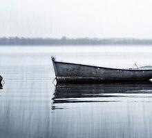 Textured Boat by Yannick Lefevre