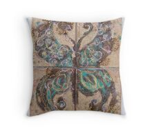 BUTTERFLY ~ 73 CANVAS Throw Pillow