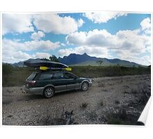 Travelling around the Stirling Ranges Poster