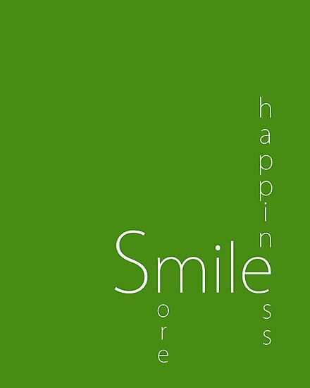 Happiness - Smile More by Susan Tong