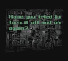 Have you tried to turn it off? by dziaduzlasu