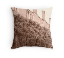 Magdalene College, Wysteria. Throw Pillow
