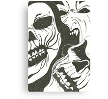 The Devils Army Canvas Print