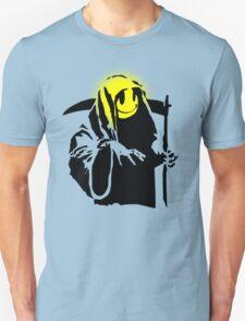 banksy - grin reaper 2 Unisex T-Shirt