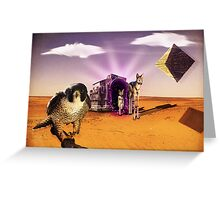 Egyptian Gate Greeting Card