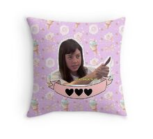April Ludgate - Parks and Recreation Throw Pillow