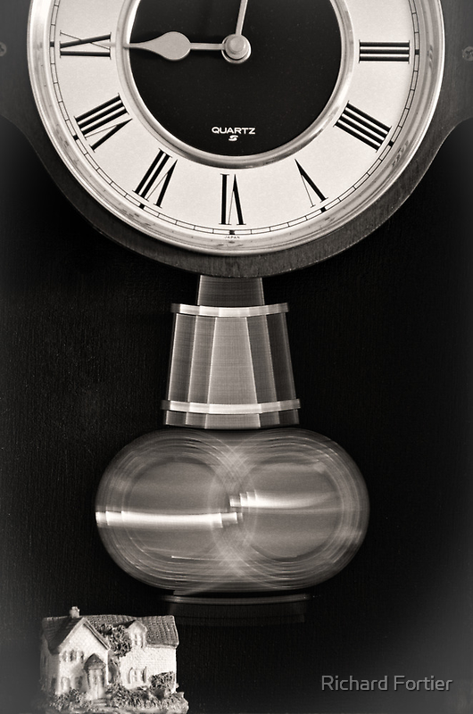 The passing of time by Richard Fortier