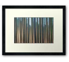 Forest Abstract 10 Framed Print