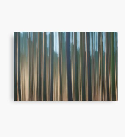 Forest Abstract 10 Canvas Print