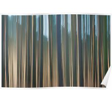 Forest Abstract 10 Poster
