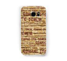 ROMANI ITE DOMUM #2 (iPhone version) Samsung Galaxy Case/Skin