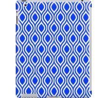 Modern Classic Blue Pattern iPad Case/Skin