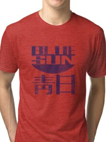Blue Sun Vintage Style Shirt (Firefly/Serenity) Tri-blend T-Shirt