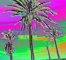Multi Palm by BevsDigitalArt