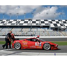 Ferrari push Photographic Print