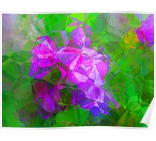 Abstract Polygons 8 Poster