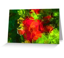 Abstract Polygons 10 Greeting Card