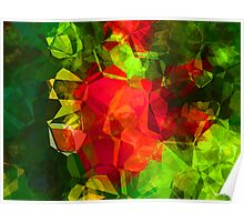 Abstract Polygons 10 Poster