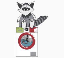 raccoon wash by tyler31