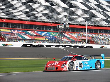 Juan Pablo Montoya at Daytona by DanaSchultz