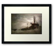 Point Betsie Light Framed Print