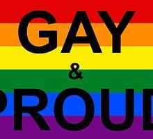 GAY & PROUD by idafreja