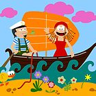 Sail Away by Sonia Pascual