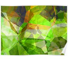 Abstract Polygons 23 Poster