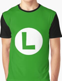 Super Mario Luigi Icon Graphic T-Shirt