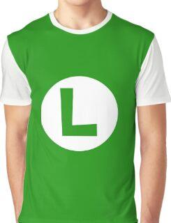 Super Mario Luigi Icon Graphic T-Shirt